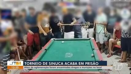 Aglomeração e jogos de azar são flagrados em bar no bairro Aeroporto Velho, em Santarém