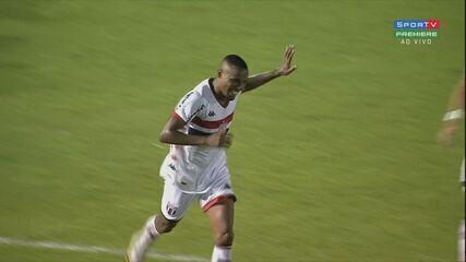Os gols de Botafogo-SP 3 x 0 Chapecoense, pela 33ª rodada da Série B