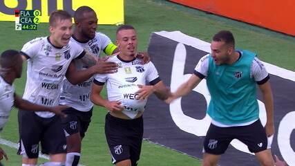 Melhores momentos de Flamengo 0 x 2 Ceará, pela 29ª rodada do Brasileirão