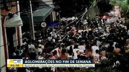 Festas e aglomerações são registradas em Fortaleza e Juazeiro do Norte