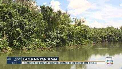 Praças, parques e zoológico da capital continuam abertos com novo decreto