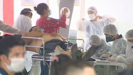 Governador do Amazonas alerta para falta de oxigênio em hospitais de Manaus