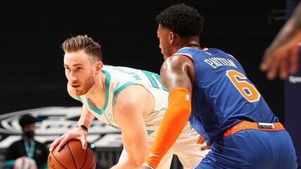 Melhores momentos: Charlotte Hornets 109 x 88 New York Knicks pela NBA