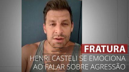VÍDEO: Henri Castelli se emociona ao falar sobre agressão em Alagoas