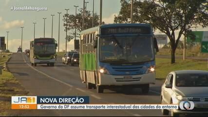 Governo do DF assume transporte interestadual das cidades goianas do entorno