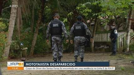 Corpo de mototaxista desaparecido desde o Natal é achado em poço em Macapá