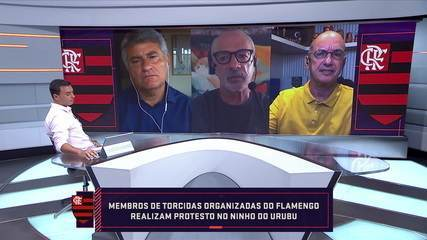 """Lédio Carmona avalia o trabalho de Ceni no Flamengo: """"Não demitiria, mas o trabalho é muito ruim"""""""