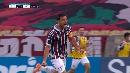 Veja os três gols de Fred, pelo Fluminense, em 2020