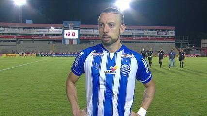 """Paulo Sérgio diz que derrota afeta pretensões de acesso, mas avisa: """"Não tem nada perdido"""""""