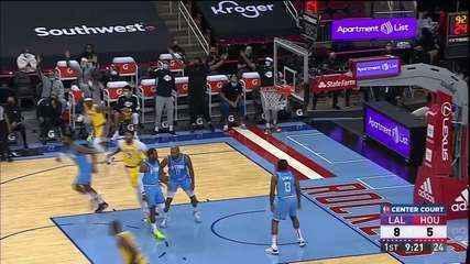 Melhores momentos: Los Angeles Lakers 117 x 100 Houston Rockets pela NBA