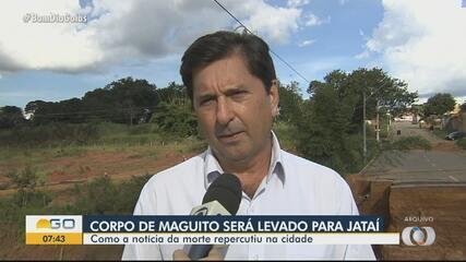 Maguito Vilela deve ser enterrado em Jataí junto dos pais e de filho bebê que perdeu