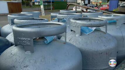 Botijão de gás de gasolina começam o ano mais caros e com reajustes acima da inflação