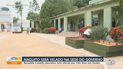 Corpo de Maguito Vilela será velado na sede do governo de Goiás