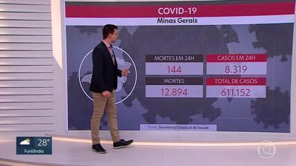 Média móvel de casos de Covid-19 registra aumento de 75%