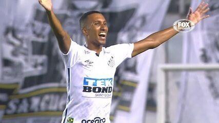 Os gols de Santos 3 x 0 Boca Juniors, pelas semifinais da Libertadores