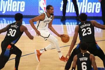 Melhores momentos: New York Knicks 109 x 116 Brooklyn Nets pela NBA