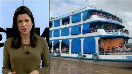 Pará proíbe circulação de embarcações do Amazonas