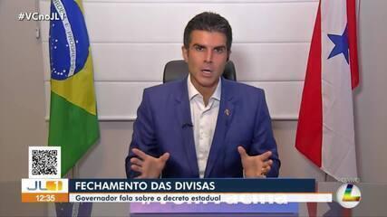 Pará fecha divisa com Amazonas como prevenção à Covid-19