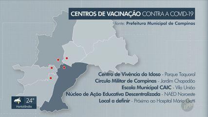 Campinas divulga detalhes do plano de vacinação contra o novo coronavírus