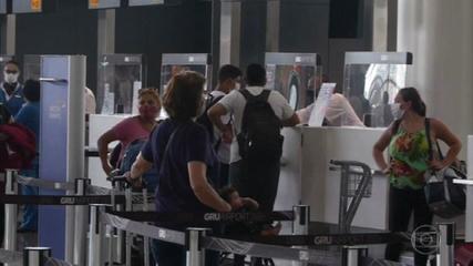 O Reino Unido proibiu a entrada de pessoas vindas do Brasil e outros 15 países