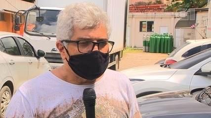 Promotor de Justiça diz que carregou bala de oxigênio nas costas para salvar filho