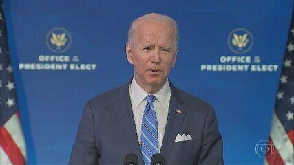 Biden anuncia pacote de US$ 1,9 trilhão para combater Covid-19 e estimular economia