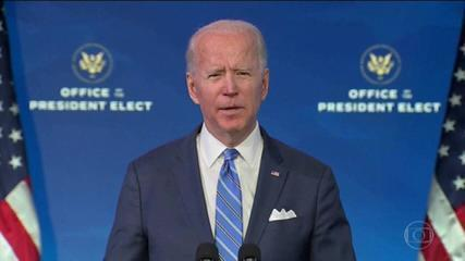Presidente eleito dos EUA anuncia pacote econômico de US$ 1,9 trilhão