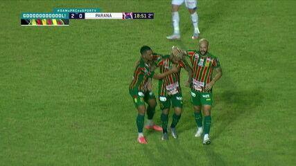 Os gols de Sampaio Corrêa 2 x 1 Paraná pela 35ª rodada do Brasileirão Série B