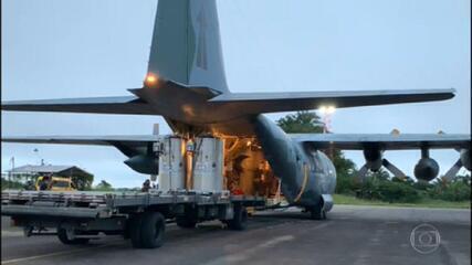 Governo federal envia novos carregamentos de oxigênio a Manaus