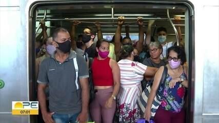 Trem apresenta problema e atrasa começo da operação no Ramal Jaboatão da Linha Centro