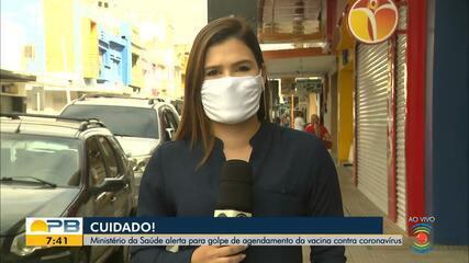 Ministério da Saúde alerta para golpe de agendamento da vacina contra Covid-19