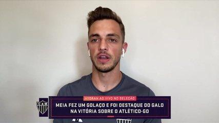 Hyoran, do Atlético-MG, participa do Seleção