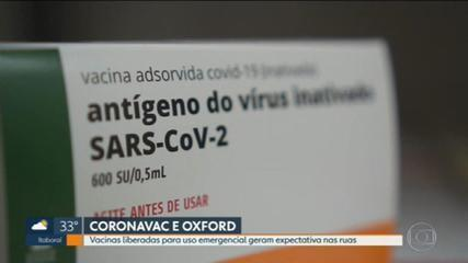 Emergency vaccines generate expectations on the streets