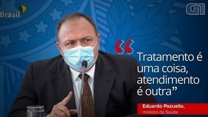 Pazuello muda o discurso e diz que ministério nunca recomendou 'tratamento precoce' para Covid