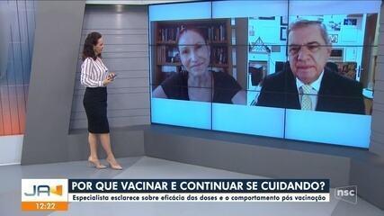 Natália Pasternak fala sobre eficácia da vacina contra a Covid-19