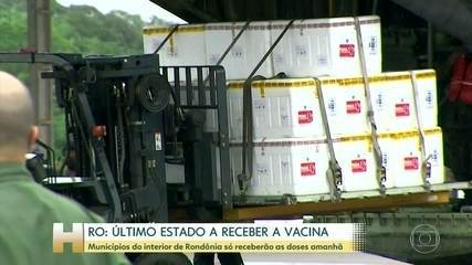 Vacinação contra Covid só deve começar amanhã no interior do Acre e de Rondônia
