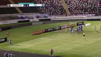 Melhores momentos de Botafogo-SP 1 x 3 CSA, pela 36ª rodada do Brasileirão Série B