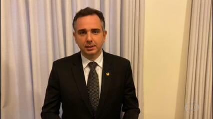 Rodrigo Pacheco, do DEM, é candidato à presidência do Senado