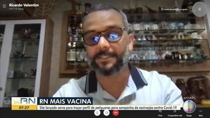 Especialista explica sobre o cadastramento no RN Mais Vacina