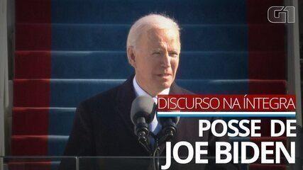 VÍDEO: 'A democracia, mais uma vez, prevaleceu', diz Joe Biden em discurso