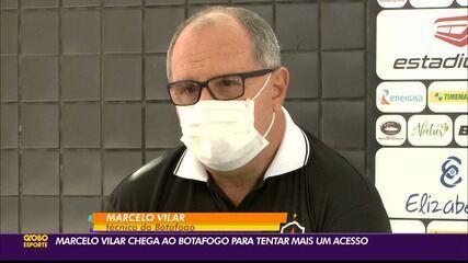 Treinador Marcelo Vilar é apresentado no Botafogo-PB para a temporada 2021