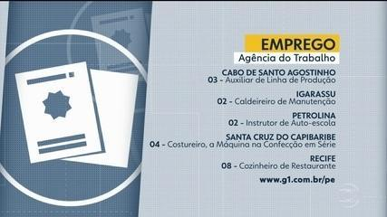 Confira vagas de emprego disponíveis nesta quinta-feira (21)