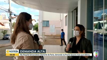 Cresce demanda no Hospital Universitário, em Montes Claros