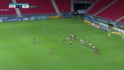 Melhores momentos: Flamengo 2 x 0 Palmeiras, pela 31ª rodada do Brasileirão