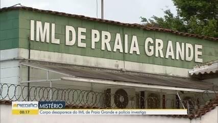 Corpo desaparece do IML de Praia Grande e polícia investiga