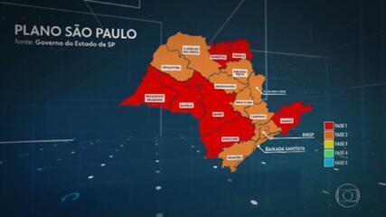 São Paulo restringe circulação de pessoas no estado depois do aumento de casos e mortes por covid-19