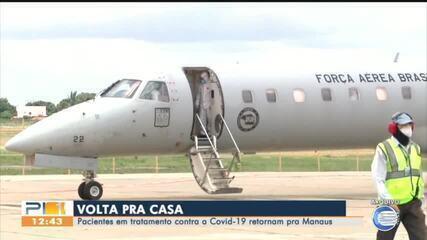 Quatro pacientes vindo para o Piauí retornam para Manaus (AM)