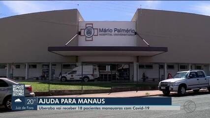 Chegada de pacientes transferidos de Manaus para Uberaba é adiada para domingo