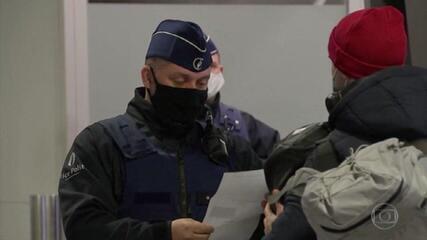 Países europeus adotam restrições de viagem no combate à Covid