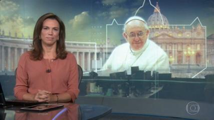 Papa Francisco exalta trabalho de jornalistas